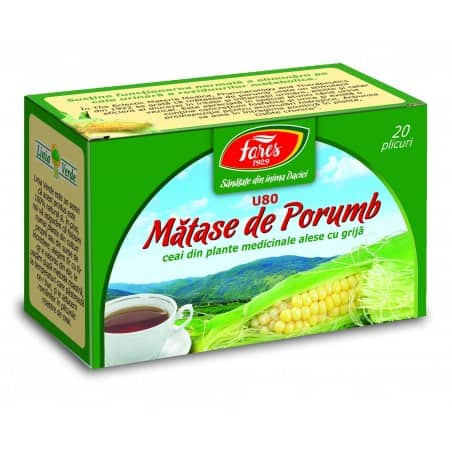 Ceai Matase Porumb, 20 pliculete FARES