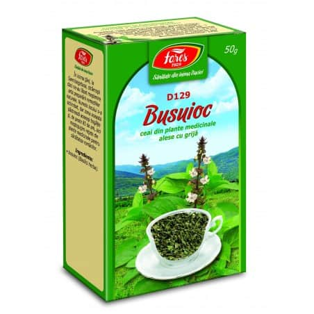 Ceai Busuioc - Iarba, punga a 50 gr FARES