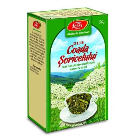 Ceai Coada Soricelului - Iarba, punga a 50 gr FARES