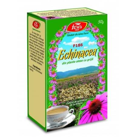Ceai Echinacea – Iarba, punga a 50 gr FARES
