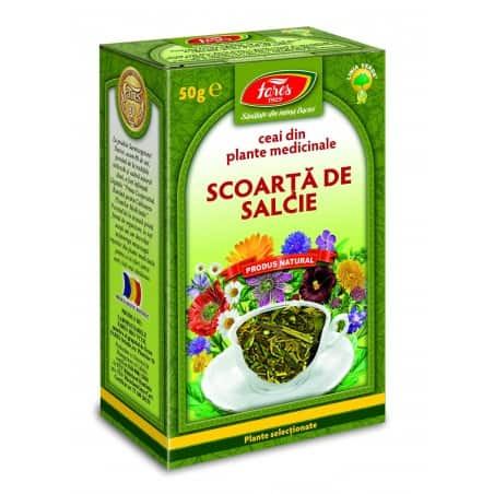 Ceai Salcie – Scoarta, punga a 50 gr FARES