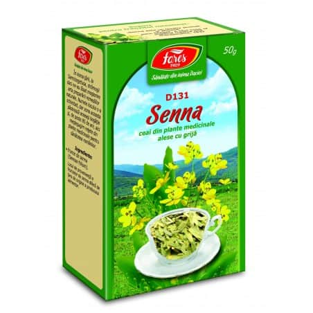 Ceai Senna – Frunze, punga a 50 gr FARES