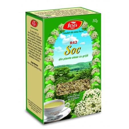 Ceai Soc – Flori, punga a 50 gr FARES