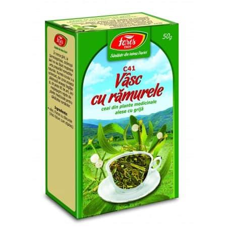 Ceai Vasc Cu Ramurele, punga a 50 gr FARES