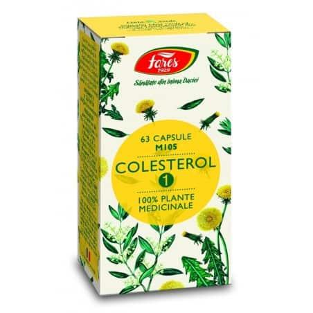 Colesterol 1, capsule 63 buc FARES