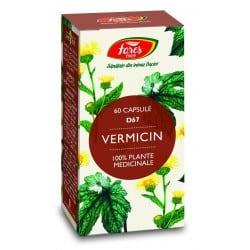 Vermicin, capsule 60 buc FARES