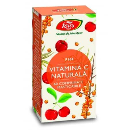 Vitamina C Naturala, comprimate 60 buc FARES