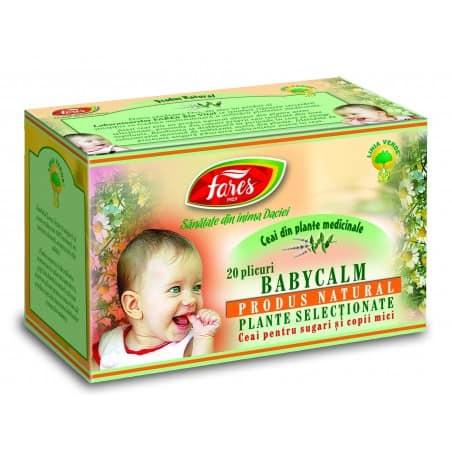 Ceai Babycalm, 20 pliculete FARES
