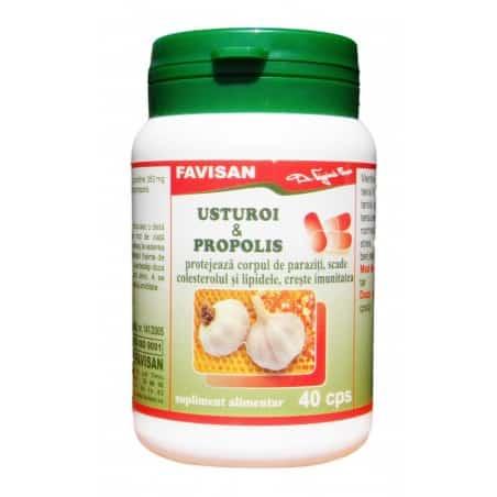Usturoi & Propolis 40cps FAVISAN