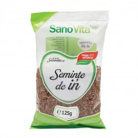 Semințe de in 125g Sanovita