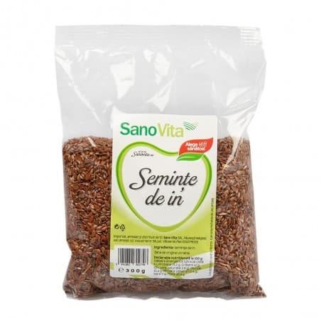 Semințe de in 300g Sanovita