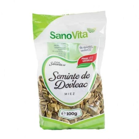 Semințe de dovleac 100g Sanovita