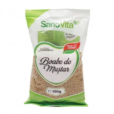 Semințe de muștar 150g Sanovita