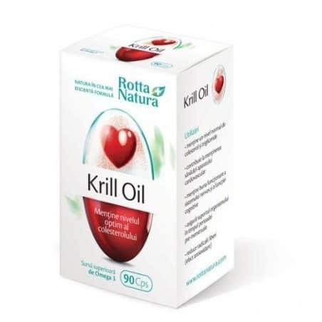 Krill Oil 500mg 90cps ROTTA NATURA